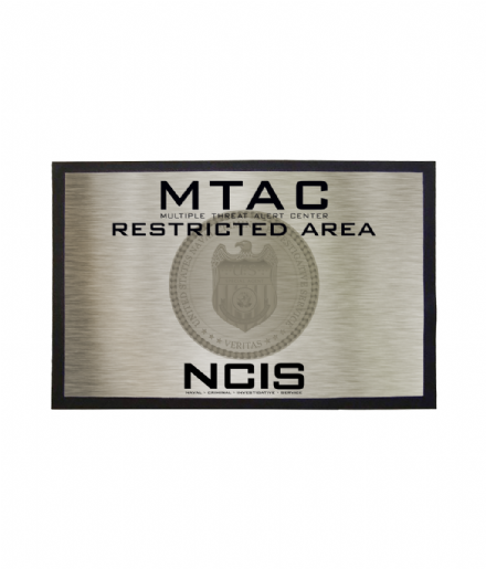 NCIS MTAC Inspired Doormat Welcome Mat